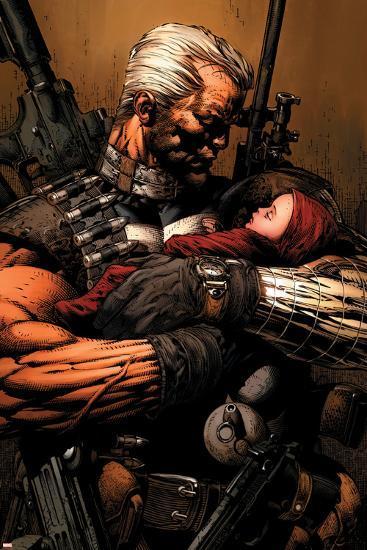 Uncanny X-Men No.493 Cover: Cable-David Finch-Art Print