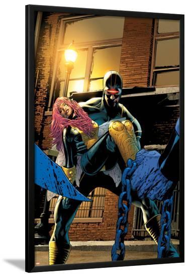 Uncanny X-Men No.501 Cover: Cyclops-Greg Land-Lamina Framed Poster