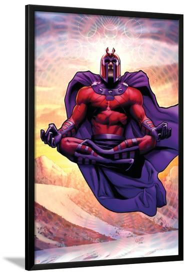 Uncanny X-Men No.521 Cover: Magneto-Greg Land-Lamina Framed Poster