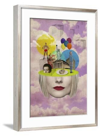 Uncertainty-Elo Marc-Framed Giclee Print