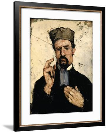 Uncle Dominique as a Lawyer, 1866-Paul Cézanne-Framed Giclee Print
