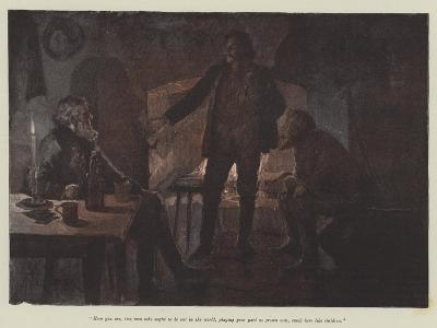 Uncle Jim and Uncle Billy-Amedee Forestier-Giclee Print