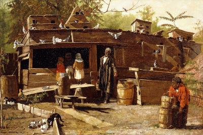 Uncle Ned at Home, 1875-Winslow Homer-Giclee Print