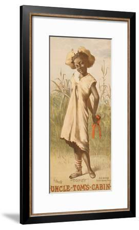 Uncle Tom's Cabin, Topsy, 1886--Framed Giclee Print