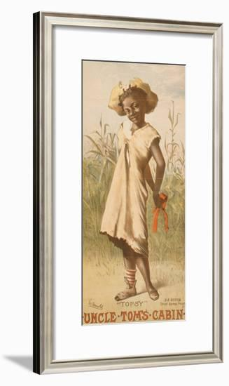 Uncle Tom's Cabin, Topsy, 1886-null-Framed Giclee Print