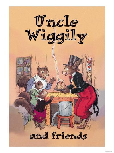 Uncle Wiggily and Friends: Pudding--Art Print
