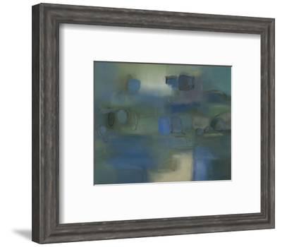 Under a Blue Moon-Nancy Ortenstone-Framed Art Print