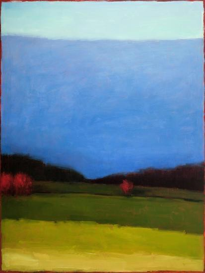 Under a Blue Sky-Tracy Helgeson-Art Print