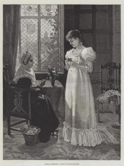 Under Correction--Giclee Print