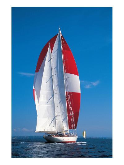 Under Full Sail--Art Print