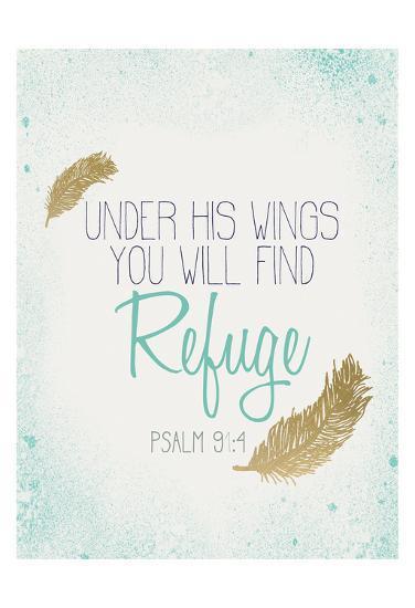 Under his Wings-Kimberly Allen-Art Print