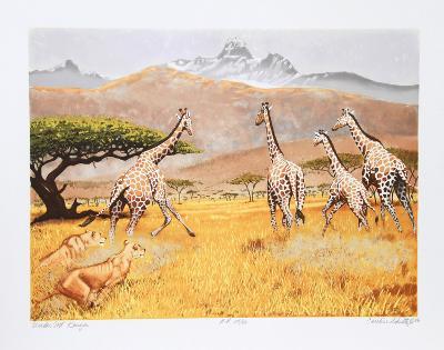 Under Mt. Kenya-Caroline Schultz-Collectable Print