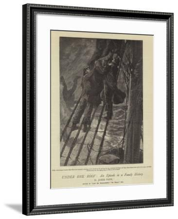 Under One Roof, an Episode in a Family History--Framed Giclee Print