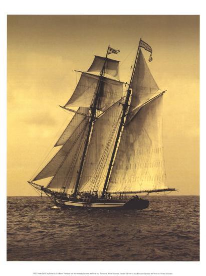Under Sail II-Frederick J^ LeBlanc-Art Print
