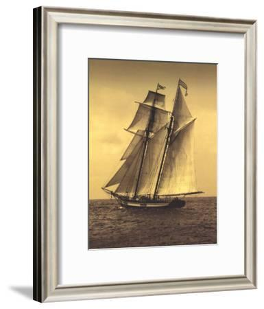 Under Sail II-Frederick J^ LeBlanc-Framed Art Print