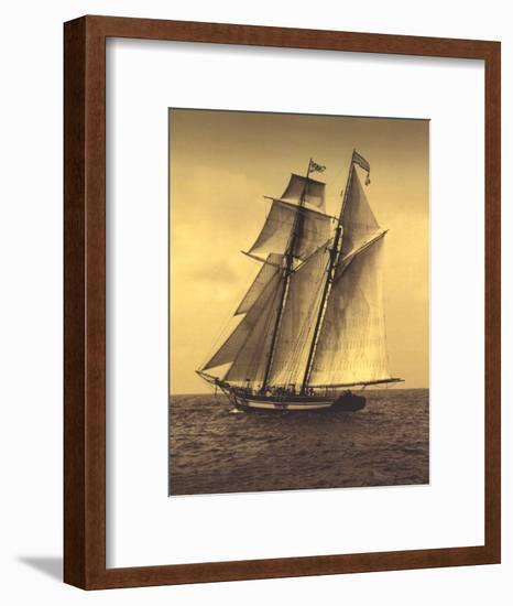 Under Sail II-Frederick J^ LeBlanc-Framed Art Print