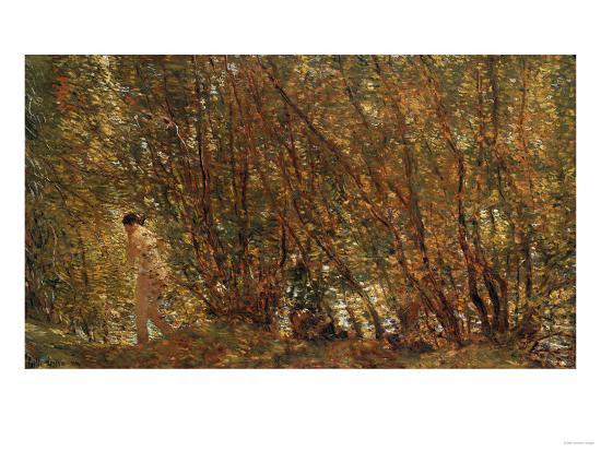 Under the Alders, 1904-Jean-Baptiste-Camille Corot-Giclee Print