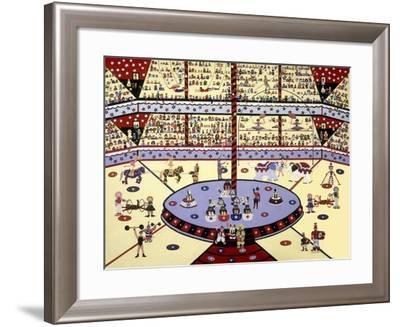 Under the Big Top-David Sheskin-Framed Giclee Print