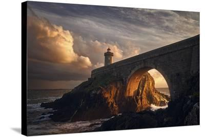Under The Bridge--Stretched Canvas Print