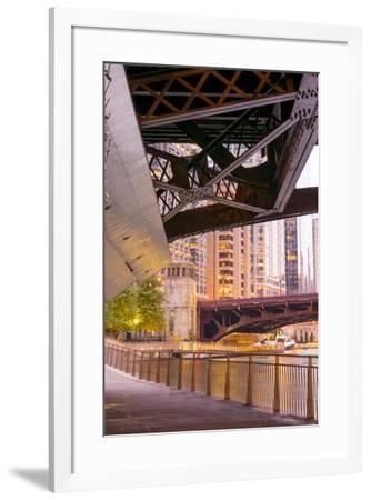 Under the Bridge-NjR Photos-Framed Giclee Print