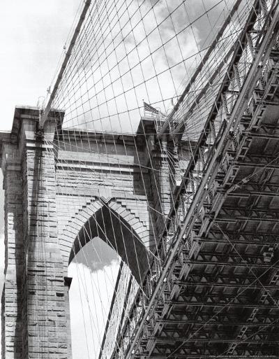 Under the Brooklyn Bridge-Phil Maier-Art Print