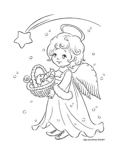 Under the Christmas Star-Olga And Alexey Drozdov-Giclee Print