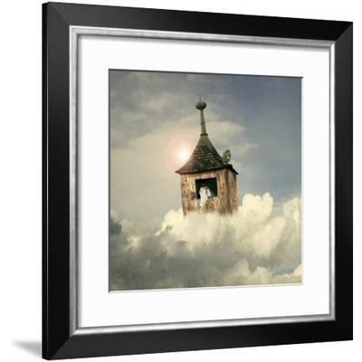 Under The Clouds-ValentinaPhotos-Framed Premium Giclee Print