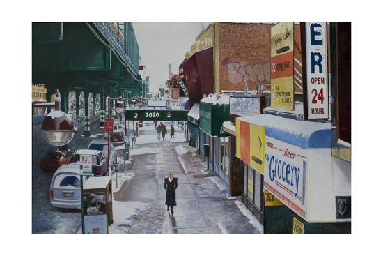 Under the El, 86th Street, Brooklyn, 2010-Anthony Butera-Giclee Print