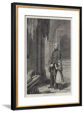 Under the Old Flag-Frank Dadd-Framed Giclee Print