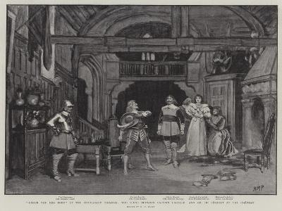 Under the Red Robe at the Haymarket Theatre-Henry Marriott Paget-Giclee Print