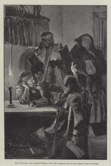Under the Red Robe-Richard Caton Woodville II-Giclee Print