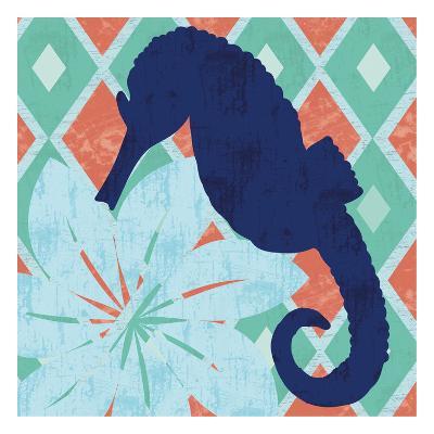 Under the Sea Horsie-Lauren Gibbons-Art Print