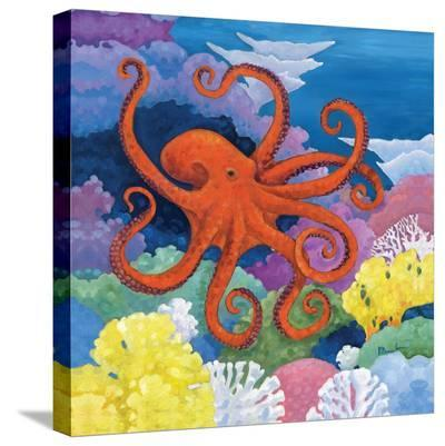 Under the Sea I-Paul Brent-Stretched Canvas Print