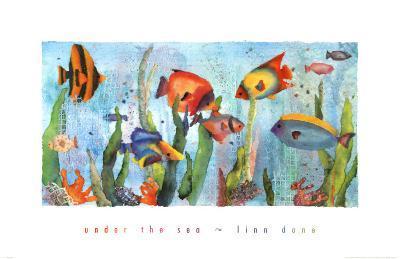 Under the Sea-Linn Done-Art Print
