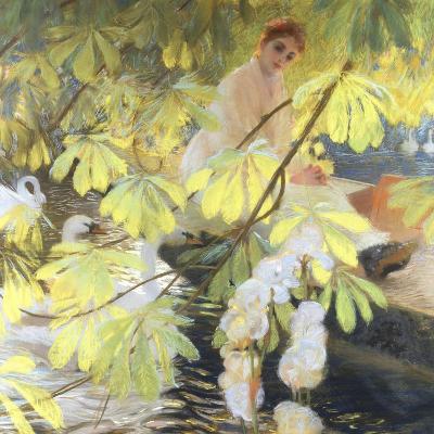 Under the Tree-Gaston De Latouche-Giclee Print