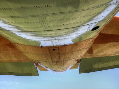 "Underbelly of a Hc-130P ""Hercules"" Military Aircraft-Pete Ryan-Photographic Print"