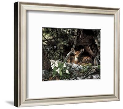 Undercover II-Kevin Daniel-Framed Art Print