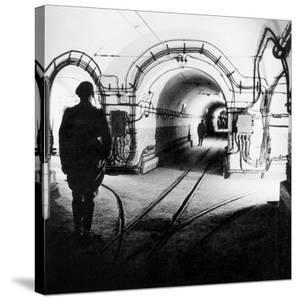 Underground Galleries in Line Maginot (France) 1939-1940