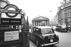 Underground Station Bank, London
