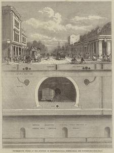 Underground Works at the Junction of Hampstead-Road, Euston-Road, and Tottenham-Court-Road