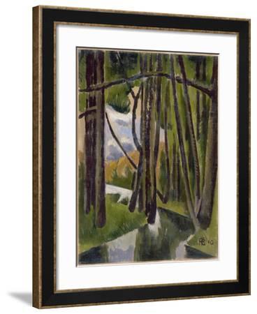 Undergrowth, 1910-Roger de La Fresnaye-Framed Giclee Print