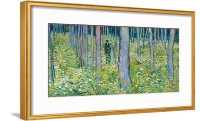 Undergrowth with Two Figures, 1890-Vincent van Gogh-Framed Giclee Print