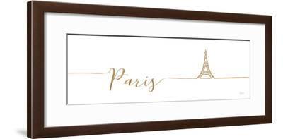 Underlined Cities I-Veronique Charron-Framed Art Print