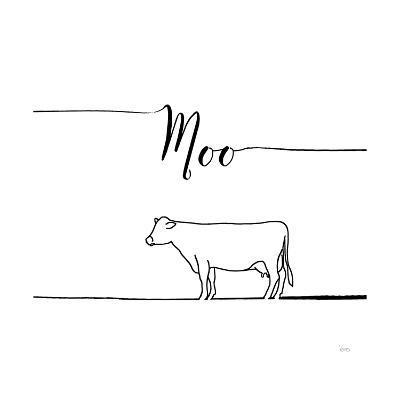 Underlined Farm VII-Veronique Charron-Art Print