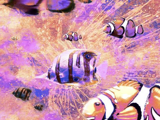 Undersea LVI-Fernando Palma-Giclee Print