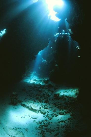 Underwater Cave-Alexis Rosenfeld-Photographic Print