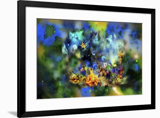 Underwater Evening,-RUNA-Framed Giclee Print