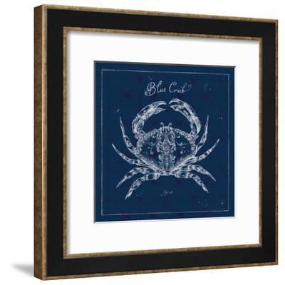 Underwater Life XII-Daphne Brissonnet-Framed Art Print