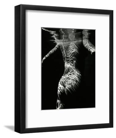 Underwater Nude, 1979-Brett Weston-Framed Photographic Print