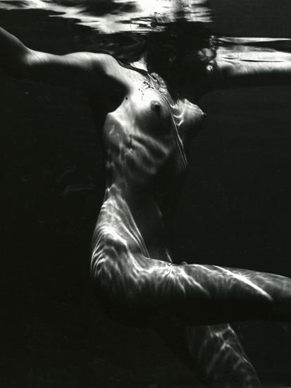 Underwater Nude, 1981-Brett Weston-Photographic Print